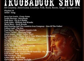 John Godfrey's Troubadour Show #14 Playlist