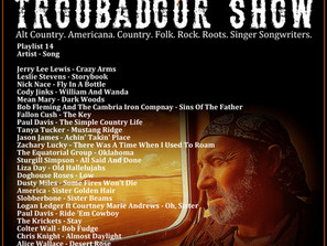 John Godfrey's Troubadour Show #14 Playlist