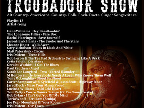 John Godfrey's Troubadour Show #13 Playlist