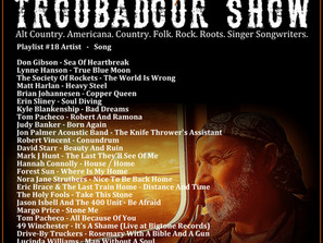 John Godfrey's Troubadour Show #18 Playlist