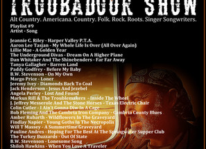 John Godfrey's Troubadour Show #9 Playlist