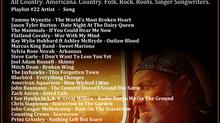John Godfrey's Troubadour Show #22 Playlist