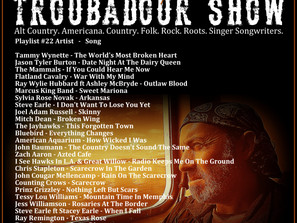 John Godfrey's Troubadour Show #22 Playlist