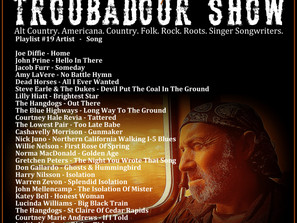 John Godfrey's Troubadour Show #19 Playlist