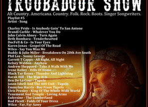 John Godfrey's Troubadour Show #5 Playlist