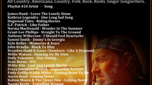 John Godfrey's Troubadour Show #24 Playlist