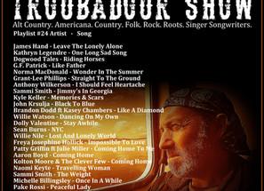 John Godfrey's Troubadour Show #24 Playlist