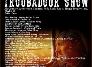 John Godfrey's Troubadour Show #10 Playlist
