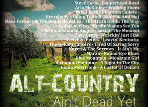 Alt Country. Ain't Dead Yet #7 Playlist