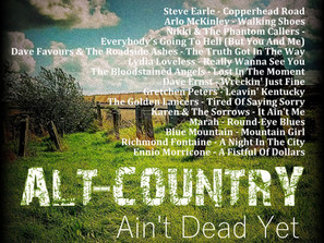 Alt Country. Ain't Dead Yet #7 Playlist