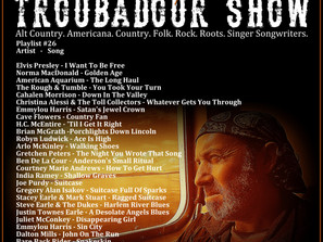 John Godfrey's Troubadour Show #26 Playlist