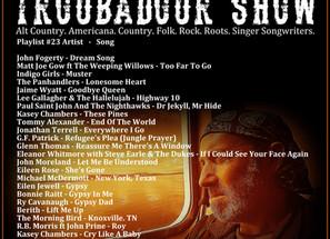 John Godfrey's Troubadour Show #23 Playlist