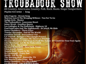 John Godfrey's Troubadour Show #23 Playlist