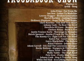John Godfrey's Troubadour Show #1 Playlist