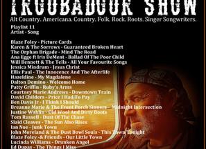 John Godfrey's Troubadour Show #11 Playlist