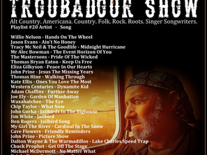 John Godfrey's Troubadour Show #20 Playlist
