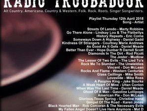 John Godfrey's Radio Troubadour #4 Playlist