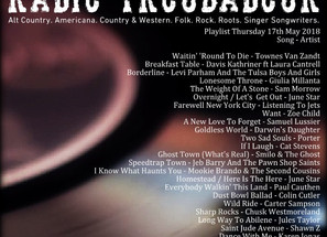 John Godfrey's Radio Troubadour #6 Playlist