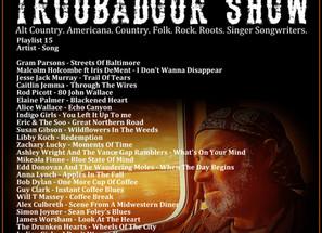 John Godfrey's Troubadour Show #15 Playlist