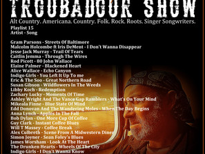 John Godfrey's Troubadour Show #15 Playlist
