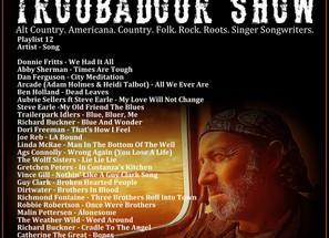 John Godfrey's Troubadour Show #12 Playlist