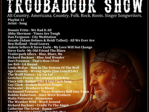 John Godfrey's Troubadour Show #12 Playlist