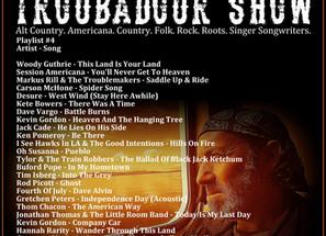 John Godfrey's Troubadour Show #4 Playlist