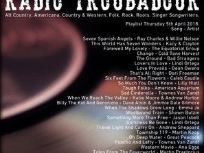 John Godfrey's Radio Troubadour #3 Playlist