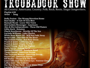 John Godfrey's Troubadour Show #28 Playlist