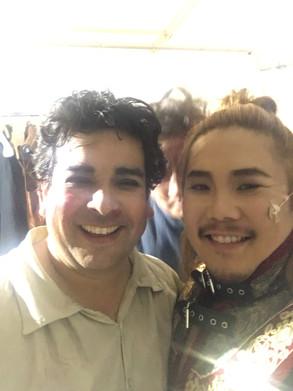 """With Felipe """"Il trovatore"""""""