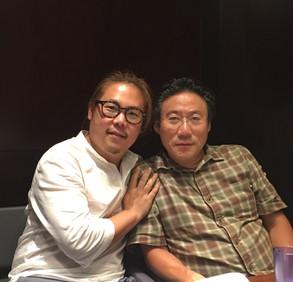 with my teacher Prof. Hans Choi