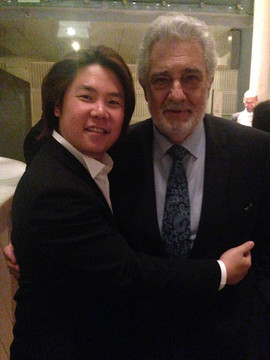 With Maestro Placido Domingo
