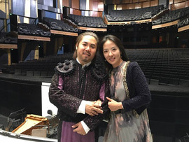 "Conte d'Almaviva ""Le nozze di Figaro"" with my wife"