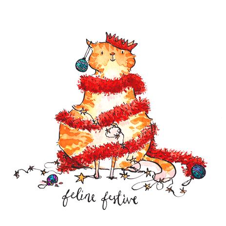 Feline Festive