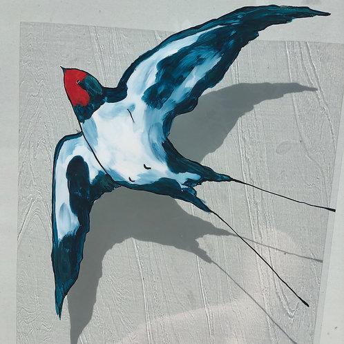 Swallow Window Art