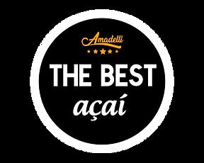 Logo The Best Açaí Amadelli