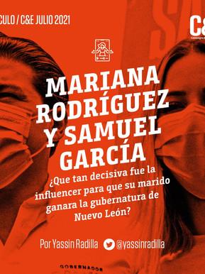 Mariana Rodríguez y Samuel García ¿Qué tan decisiva fue la influencer para que su marido ganara?