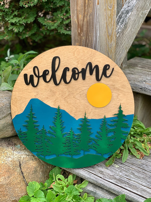 Welcome Mountain Hanger