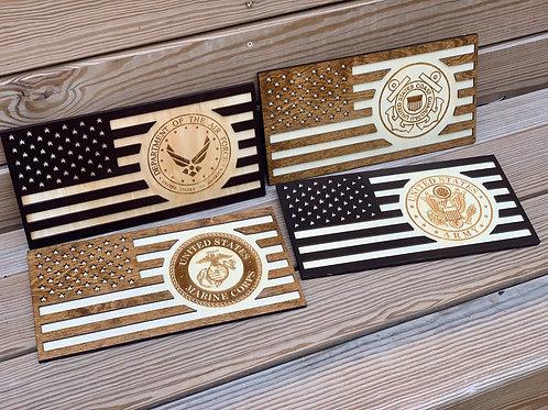 USA Flag Hangers