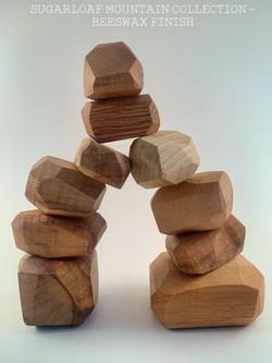 Wooden Balancing Stones