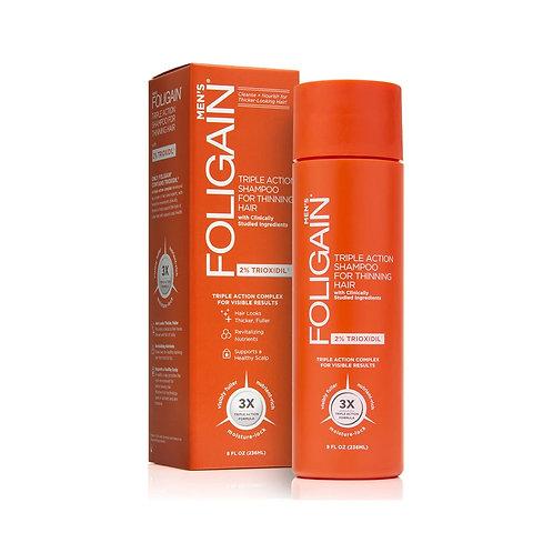 Foligain Shampoo C/ 2% de Trioxidil 236 ml -ENVIO IMEDIATO