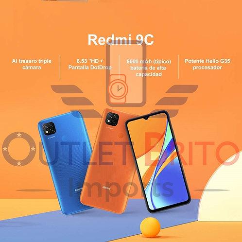 Redmi 9c 64gb - Nota Fiscal + Garantia +Entrega Imediata + Lacrado/Original