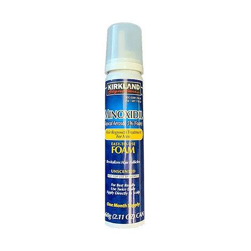 KIRKLAND Minoxidil 5% FOAM Espuma (1 Mês)