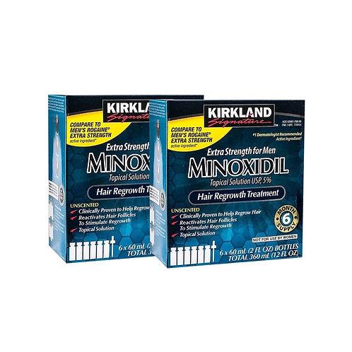KIRKLAND MINOXIDIL 5% (2 Caixas) - PROMOÇÃO!!