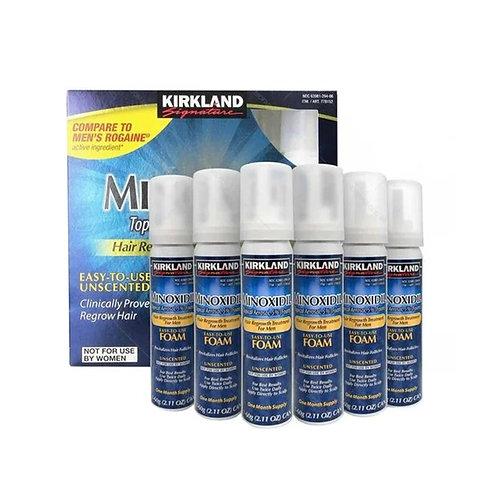 Kirkiland Minoxidil 5% (Espuma) - 6 meses tratamento