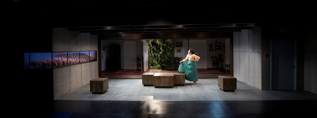 Act 2 of The Cherry Orchard, Production: Lucie Tiberghien