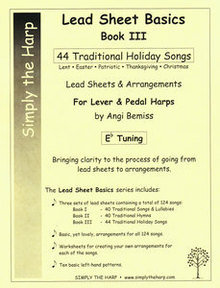Holiday Collection-Lead Sheets Bk. III, E-flat