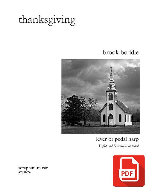 Thanksgiving-Brook Boddie PDF Download