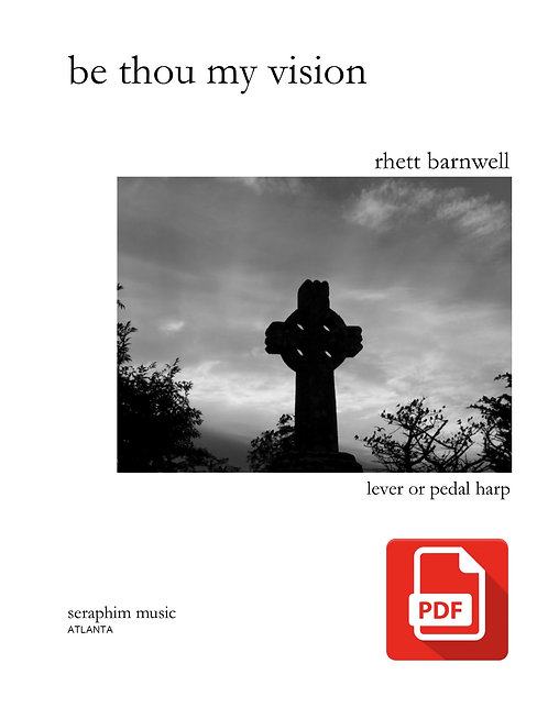 Be Thou My Vision (harp solo) PDF