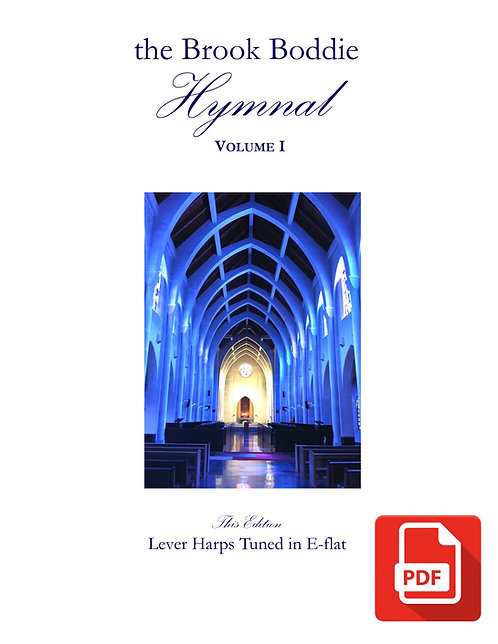 The Brook Boddie Hymnal, Volume I, E-flat edition, PDF
